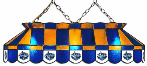 """San Diego Padres MLB Team 40"""" Rectangular Stained Glass Shade"""