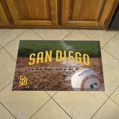 San Diego Padres Vinyl Door Mat