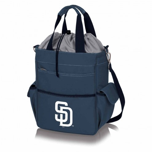 San Diego Padres Navy Activo Cooler Tote