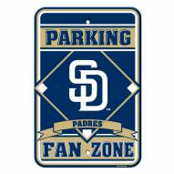 San Diego Padres Parking Sign