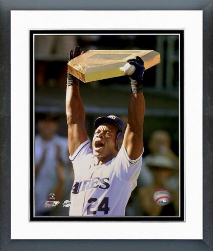 San Diego Padres Rickey Henderson All-Time Run Scoring Leader Framed Photo