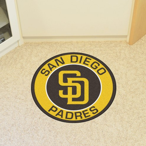 San Diego Padres Rounded Mat