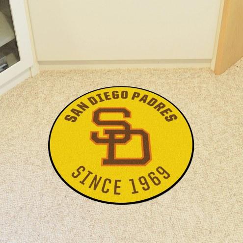San Diego Padres Roundel Mat
