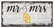 San Diego Padres Script Mr. & Mrs. Sign
