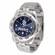 San Diego Padres Sport Steel AnoChrome Men's Watch