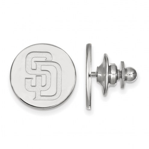San Diego Padres Sterling Silver Lapel Pin
