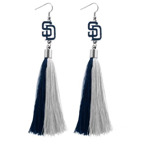 San Diego Padres Tassel Earrings