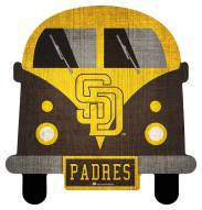 San Diego Padres Team Bus Sign