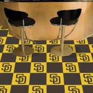 San Diego Padres Team Carpet Tiles