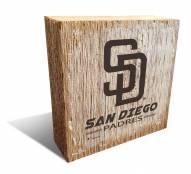 San Diego Padres Team Logo Block