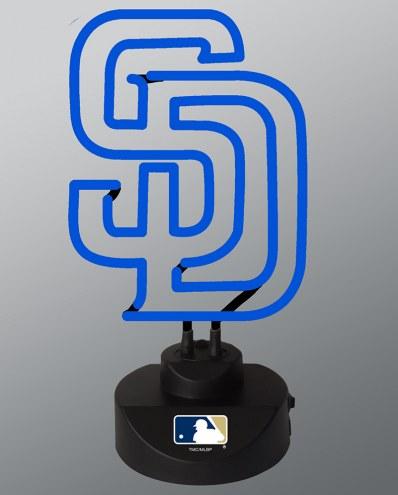 San Diego Padres Team Logo Neon Lamp