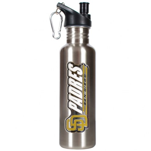 San Diego Padres 26 oz. Water Bottle with Pop-Up Spout
