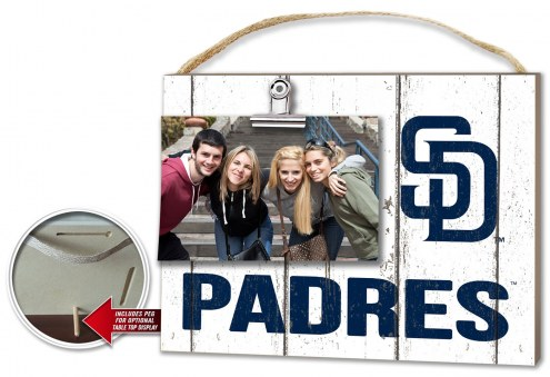 San Diego Padres Weathered Logo Photo Frame