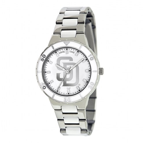 San Diego Padres Womens Pearl Watch
