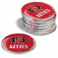San Diego State Aztecs 12-Pack Golf Ball Markers