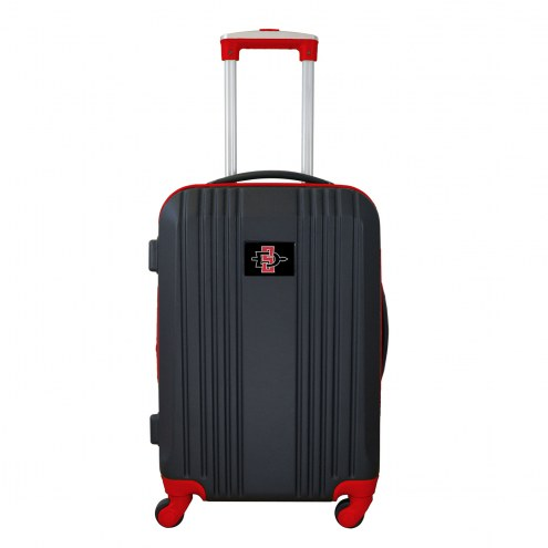 """San Diego State Aztecs 21"""" Hardcase Luggage Carry-on Spinner"""