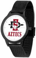 San Diego State Aztecs Black Mesh Statement Watch
