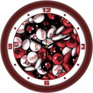 San Diego State Aztecs Candy Wall Clock