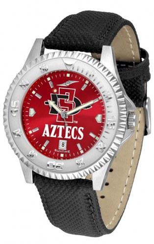 San Diego State Aztecs Competitor AnoChrome Men's Watch