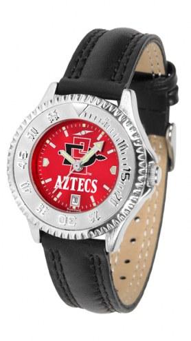San Diego State Aztecs Competitor AnoChrome Women's Watch