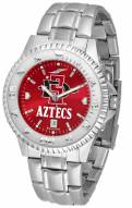 San Diego State Aztecs Competitor Steel AnoChrome Men's Watch