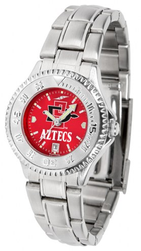 San Diego State Aztecs Competitor Steel AnoChrome Women's Watch