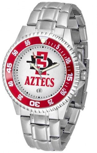 San Diego State Aztecs Competitor Steel Men's Watch