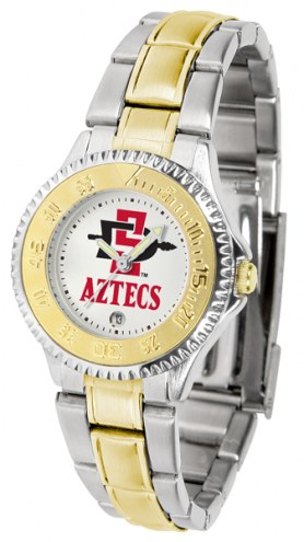 San Diego State Aztecs Competitor Two-Tone Women's Watch