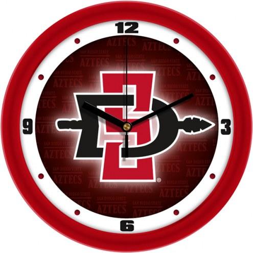 San Diego State Aztecs Dimension Wall Clock