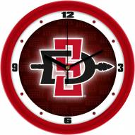 San Diego State Aztecs Dimension Wall Clock