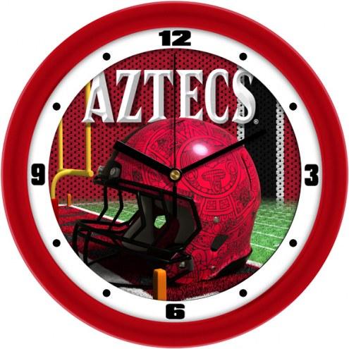 San Diego State Aztecs Football Helmet Wall Clock