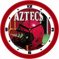 San Diego State Aztecs Football Helmet Wall Clock