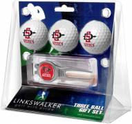 San Diego State Aztecs Golf Ball Gift Pack with Kool Tool