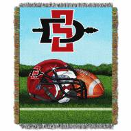 San Diego State Aztecs Home Field Advantage Throw Blanket