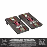 San Diego State Aztecs Operation Hat Trick Stained Cornhole Game Set