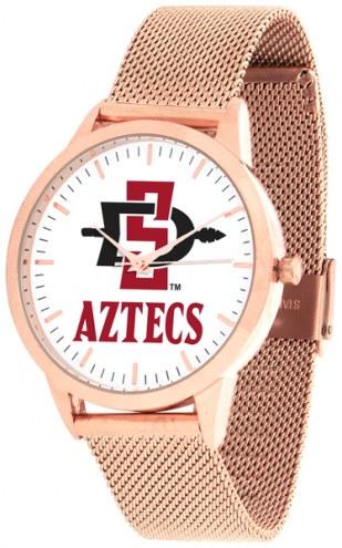 San Diego State Aztecs Rose Mesh Statement Watch