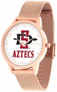San Diego State Aztecs Rose Mesh Statement Watch