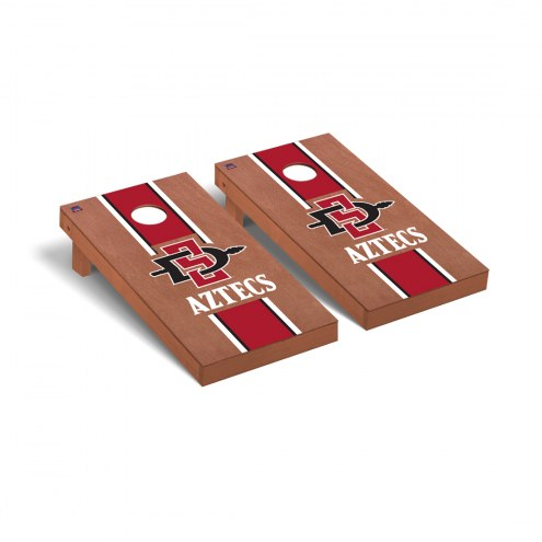 San Diego State Aztecs Rosewood Stained Cornhole Game Set