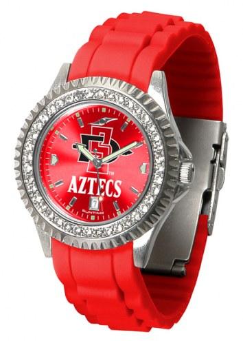 San Diego State Aztecs Sparkle Women's Watch