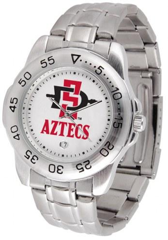 San Diego State Aztecs Sport Steel Men's Watch