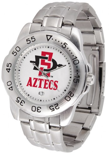 San Diego State Aztecs Sport Steel Men's Watch