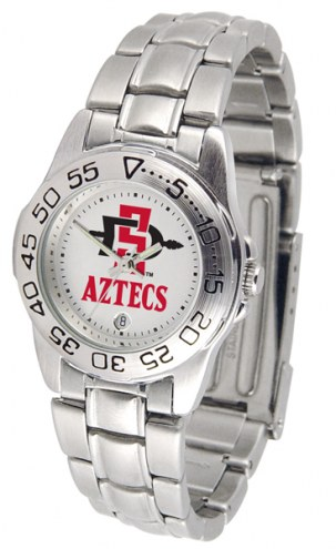 San Diego State Aztecs Sport Steel Women's Watch