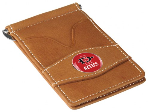 San Diego State Aztecs Tan Player's Wallet