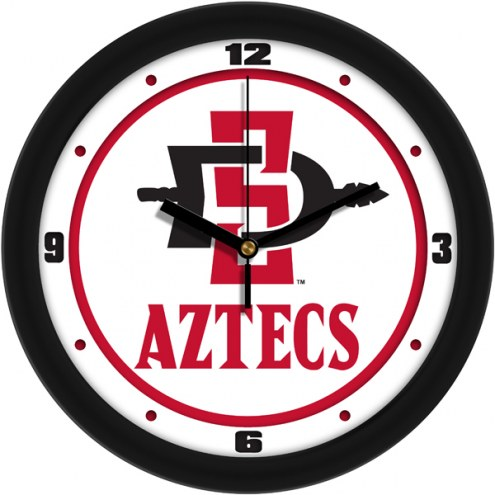 San Diego State Aztecs Traditional Wall Clock