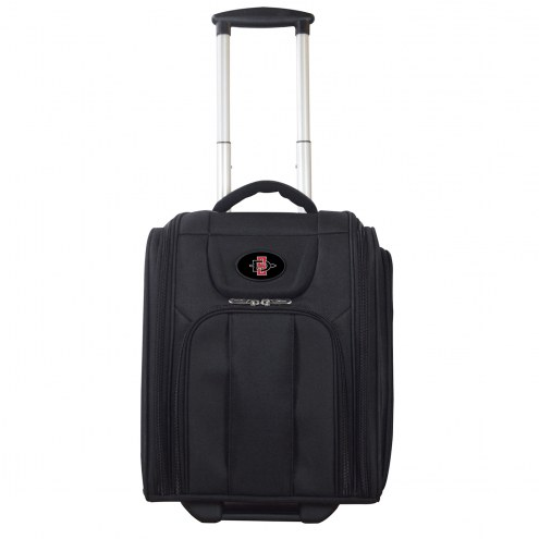 San Diego State Aztecs Wheeled Business Tote Laptop Bag