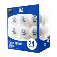 San Diego Toreros 24 Count Ping Pong Balls
