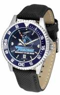 San Diego Toreros Competitor AnoChrome Men's Watch - Color Bezel