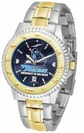 San Diego Toreros Competitor Two-Tone AnoChrome Men's Watch