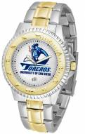 San Diego Toreros Competitor Two-Tone Men's Watch