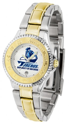 San Diego Toreros Competitor Two-Tone Women's Watch